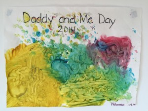 Daddy and Me Painting (2014)
